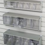HandiWall Tilt Bin Storage Unit