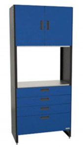 HR5-18 blue tall cabinet